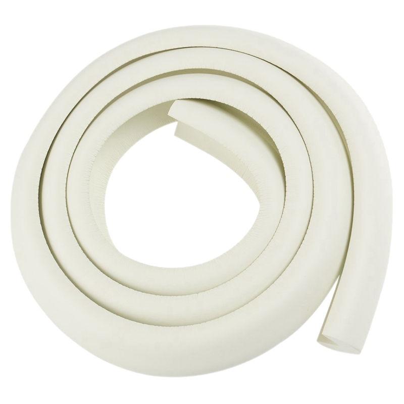 Baby Strip Table Bumper Guard Soft Bumper Non-toxic 2M (white)