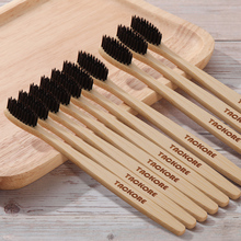 5pc Soft Bristle Bamboo Charcoal Toothbrush Natural Nano Protector Tooth Brush Travel Eco friendly Brush Tooth Environment