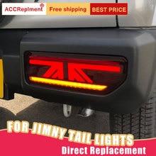 Gruppo fanale posteriore per Suzuki Jimny 18 19 LED indicatore di direzione sequenziale LED luce di marcia LED luce di stop LED luce di retromarcia 1 paio