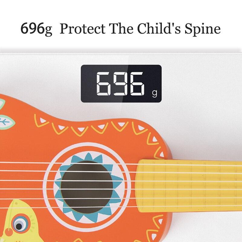 MiDeer Guitarra madera niños música Guitarra Ukelele Basswood 6 cuerdas Guitarra Musical educativo concierto instrumento juguete niños regalo - 4