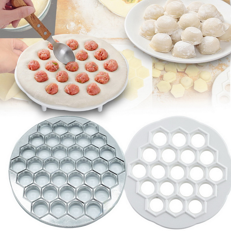 Dumpling Mould Dumplings Maker Ravioli Aluminum Mold Pelmeni Dumplings With Rolling  Make Pastry Dumpling 37 Holes