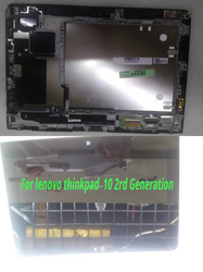 10.1 inch LCD Display with Touch Screen Digitizer With Frame Black For Lenovo Thinkpad 10 B101UAN01.7 Tablet LCD display Screen