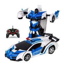 Transformation Toy RC Car Robots Sports Vehicle Model  Robots Toys Cool Deformation Car Kids Toys  Gifts For Boys znatok robots