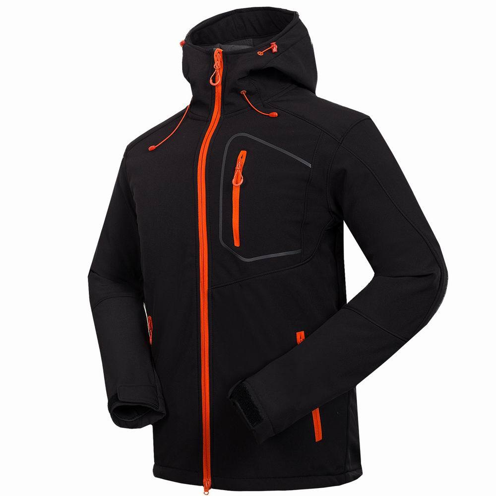 2019 nouveau Softshell veste hommes marque imperméable vestes manteau de pluie en plein air randonnée vêtements mâle coupe-vent doux Shell polaire veste