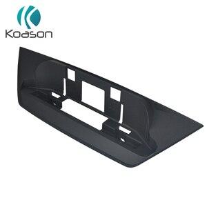 Черная пластиковая основа для BMW X1 E84 Android GPS навигация Мультимедиа оригинальный экран монитор приборной панели