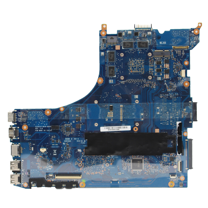 Original For ASUS GL552JX ZX50J GL552J GL552 laptop motherboard MB REV:2.0 I7-4720HQ GTX950M/2G 100% fully Tested 1