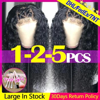 Jarin Hair 4 #215 4 koronkowa część peruka perwersyjne kręcone ludzkie włosy peruki Remy mongolskie przedłużanie włosów ludzkie włosy środkowa część 150 gęstość tanie i dobre opinie Remy włosy Średnia wielkość Jasny brąz Ciemniejszy kolor tylko Swiss koronki Mongolski włosów Natural Color