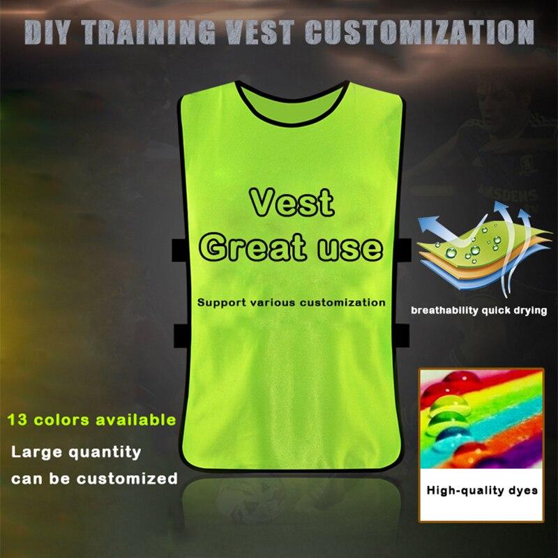 Soccer Jerseys 2020 Confrontation Jersey Football Shirt Basketball Training Child Adult XL Team Volunteer Sleeveless Uniform