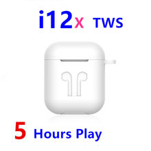 I12x Tws Pop-Up Wireless Earphone Super Bass Bluetooth 5.0 Earphone PK I10 I12 I30 I500 I9000 I12tws Twsi12(China)