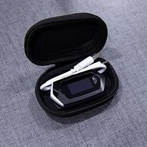 Image 5 - אצבע דופק Oximeter SpO2 דופק חיישן חמצן בדם רוויה צג עם תיק נשיאה ושרוך ליתיום סוללה