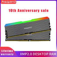 Asgard Loki w2 RGB 8GB * 2 3200MHz DDR4 DIMM 288-pin XMP Memoria Ram ddr4 pamięć stacjonarna Ram do gry komputerowe podwójny kanał