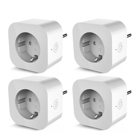New 4PCS Elelight PE1004T Smart Sockets Remote Control Outlet with Timing Function XQ 150