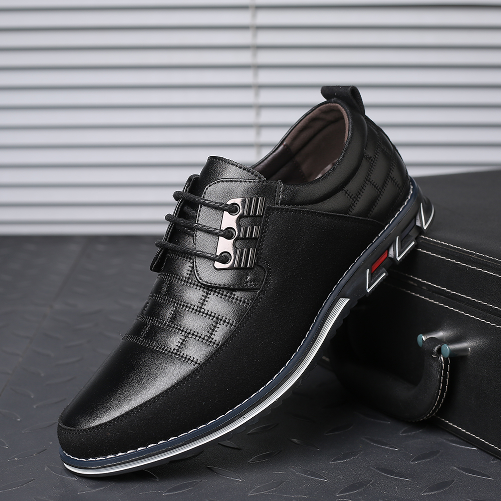 H3b97285e026b41aaa49f5abae38409bf0 2019 New Big Size 38-48 Oxfords Leather Men Shoes Fashion Casual Slip On Formal Business Wedding Dress Shoes Men Drop Shipping