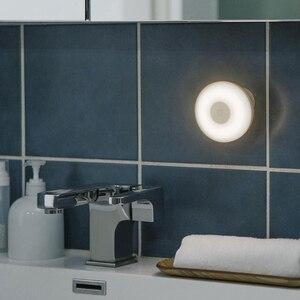 Image 5 - Original Xiaomi Mijia Führte Induktion Nacht Licht 2 Lampe Einstellbare Helligkeit Infrarot Smart Menschlichen körper sensor mit Magnetische basis