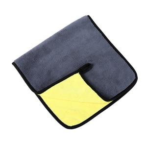 Image 5 - 3/5/10 pcs Extra Soft Car Wash Microfiber Towel Car Cleaning Drying Cloth Car Care Cloth Detailing Car WashTowel Never Scrat