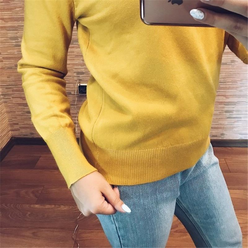 GCAROL Fall Winter Girls Knit Pullover 30% Wool Hooded Sweater High Street Candy Women Render Knit Jumper Knitwear 21