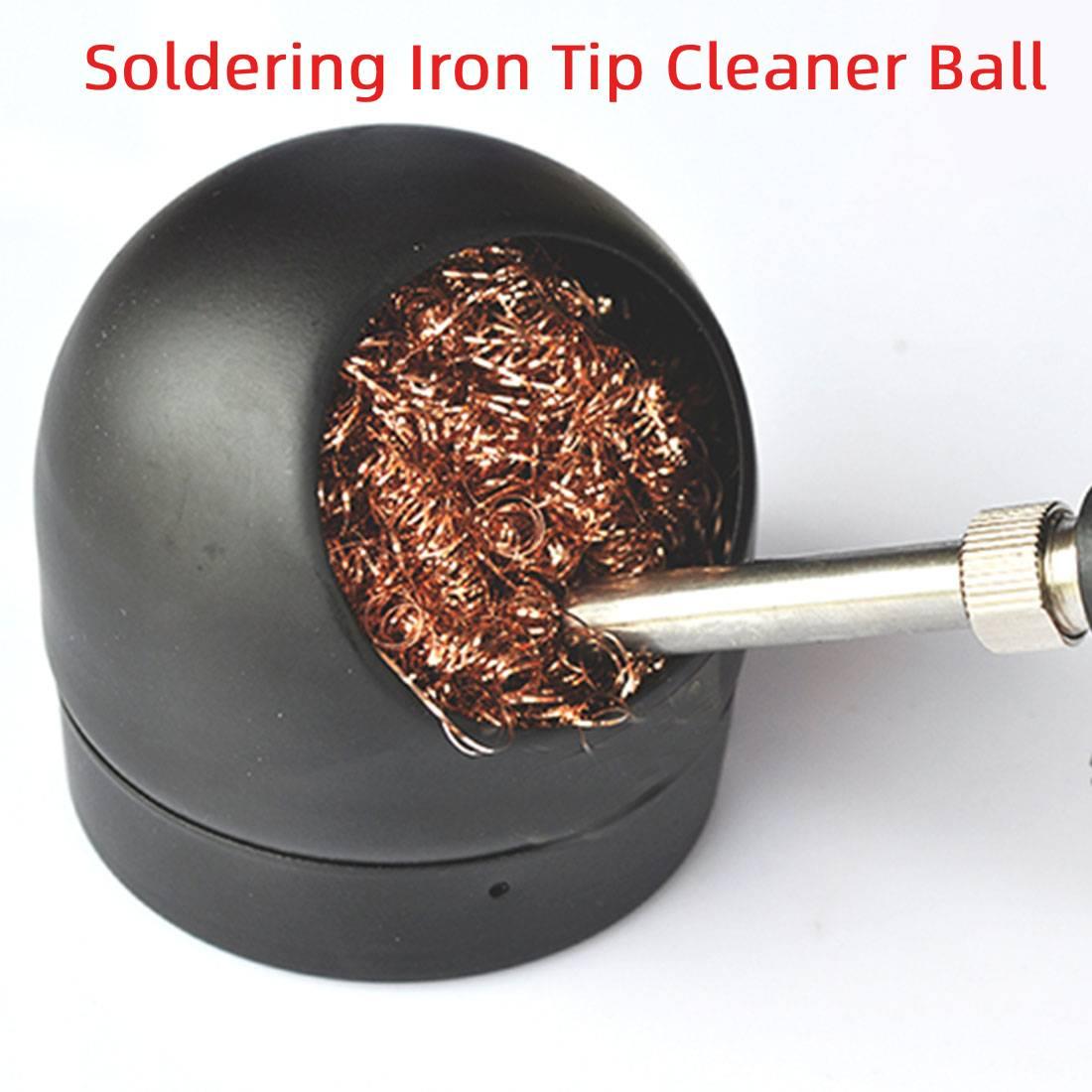 Nettoyant nettoyage fil dacier éponge balles soudage soudure soudure fer pointe pour outil de soudage nettoyage acier boule maille filtre outil