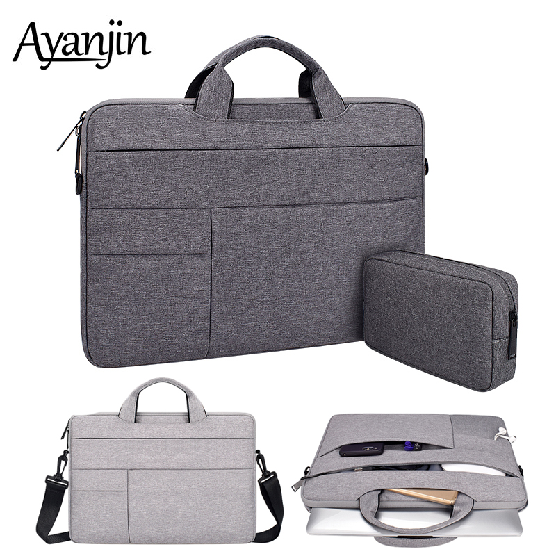 High Capacity Handbag Shoulder Bags 14 15 6 inch For font b Macbook b font Air