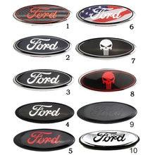 Car Front Sticker Trunk Badge for Ford Logo F150 F250 Mondeo Mk4 Mk5 Mk3 Explorer Ecosport Fiesta Hood Badge Accessories