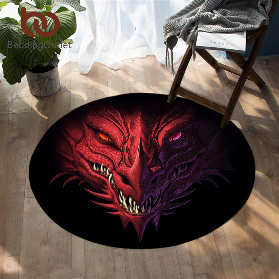 Gothic Bathroom Rug Goth Home Decor Death Head Luna Moth Bath Mat