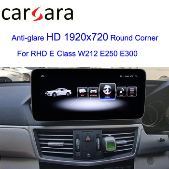 RHD W212 Screen Updating 10.25 Touch Wide Navi DVD GPS Navigator Display Merce des Stereo Upgrade