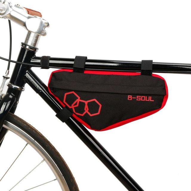 Водонепроницаемая велосипедная треугольная сумка передняя рама