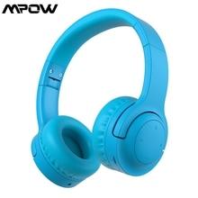 Mpow R8 有線 & ワイヤレス子供bluetooth 5.0 ヘッドフォン 93dB限定ボリュームと 3.5 ミリメートルauxポートMP3 pc電話ラップトップ