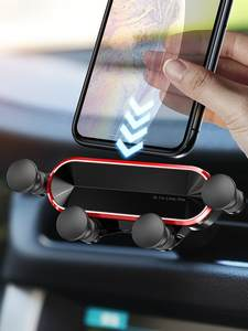 GETIHU Gravity Car Phone Holder Air Vent Clip Mount No Magnetic Mobile Support Cell Stand