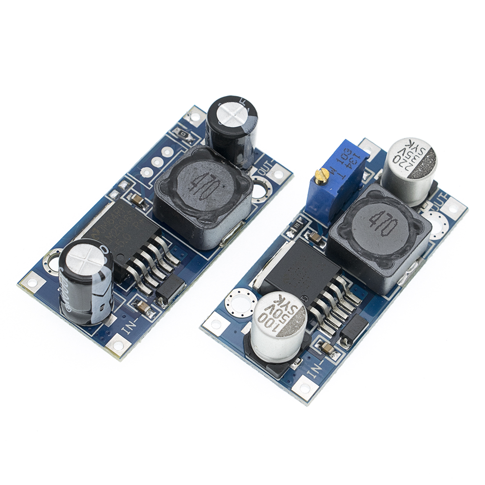 Image 3 - 100pcs LM2596 LM2596S ADJ DC DC 4.5 40V adjustable/5V step down power Supply module 5V/12V/24V-in Integrated Circuits from Electronic Components & Supplies