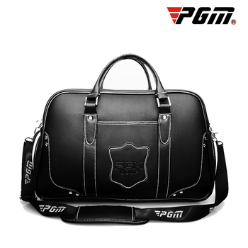 PGM Professional Golf Clothing Bag Travel Shoes Bags Brand Men Leather Ball Bags High-end Sports Clothes Pack Portable Durable