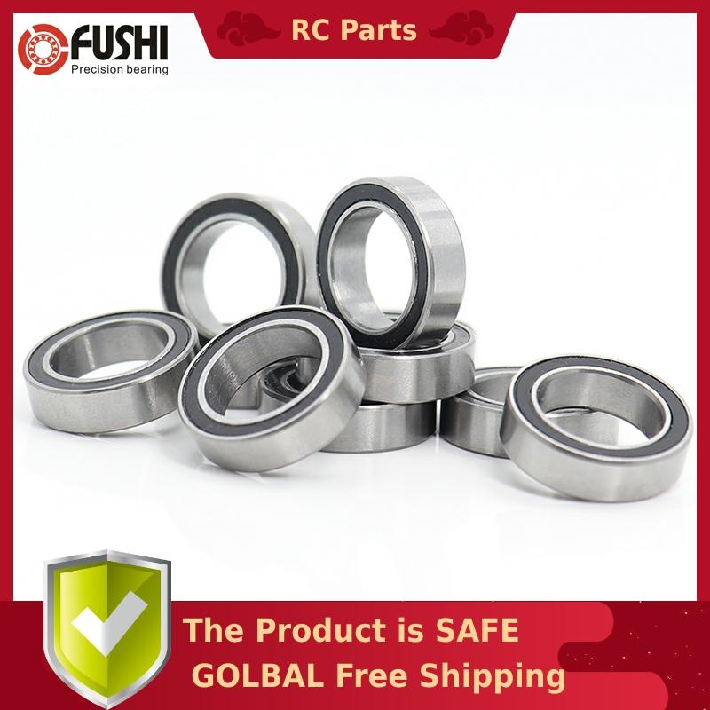 6700RS 10*15*4 (mm) 10Pieces Bearing ABEC-5 61700 6700 63700 Chrome Steel Ball Bearings With Black Rubber Seal