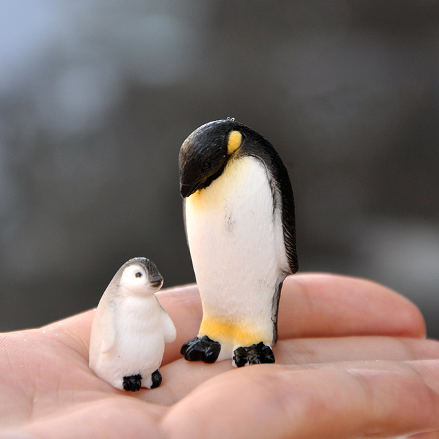BAIUFOR DIY Mini Penguin Iceberg Seal Model, Winter Figure, Miniature Figurine Toy for Children Gift Birthday Home Decoration 3