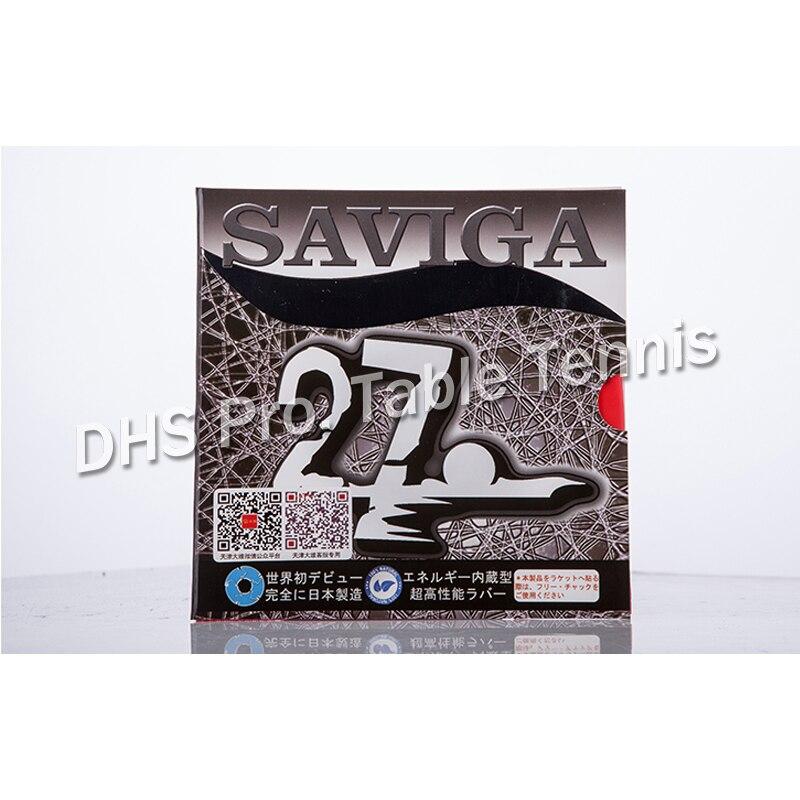 Dawei SAVIGA NO.27 (Made In Japan Table Tennis Rubber Pips-long Without Sponge (Pips Long Ping Pong Topsheet, OX)