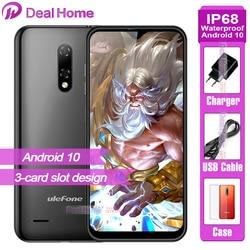 Ulefone Note 8P 2GB RAM 16GB ROM Smartphone Android 10.0 5.5 Cal 4G Celular telefon ekran Waterdrop czterordzeniowy 8MP aparat telefon