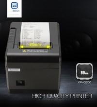 цена на Factory direct sales 80mm Automatic cutting thermal printer receipt machine printing speed fast USB +LAN interface