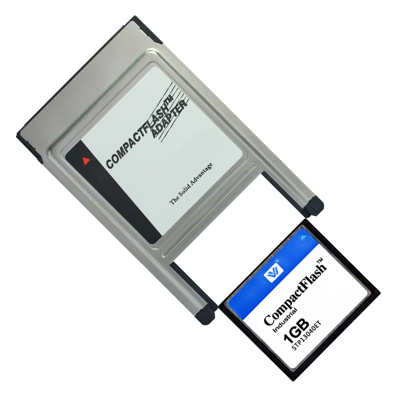 CF Card 128MB 256MB 512MB 1GB 2GB CompactFlash CF Card With PCMCIA Adapter Memory Card For Car MP3