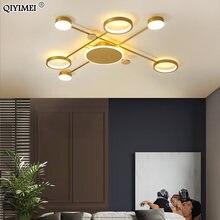 Современные светодиодные люстры освещение для гостиной столовой