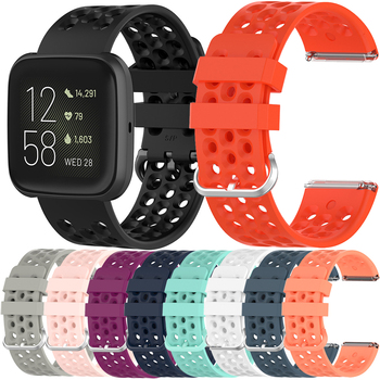 Essidi Breathable Sports Band For Fitbit Versa 2 Smart Bracelet Strap Loop For Fitbit Versa Watch Replacement фото