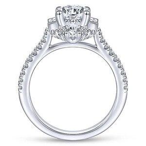 Image 5 - バゲ Ringen クラシック 100% 本物のシルバー 925 リングと 6 ミリメートルラウンド形状ジルコンリング結婚式婚約 Jewerly サイズ 6  10 卸売
