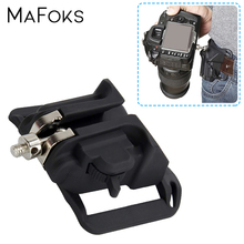 Camera Waist Holster Hanger Quick Shoulder Strap Waist Belt Buckle Button Mount Clip Lightweight Fast Loading for DSLR Cameras