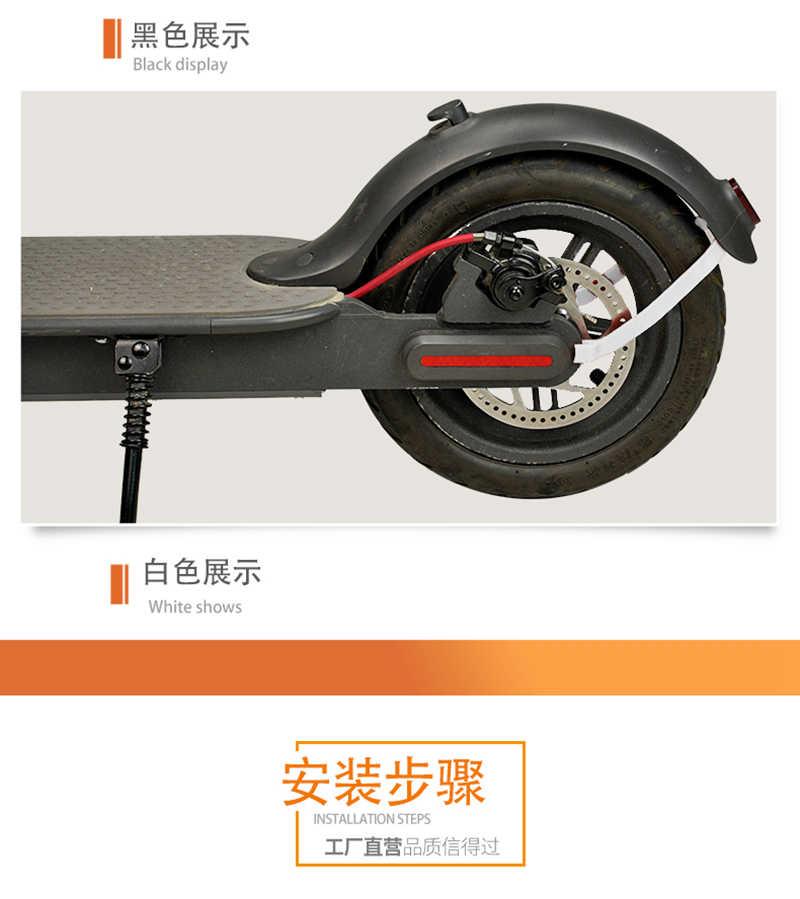 Suporte para paralama traseiro suporte rígido para scooter elétrico xiaomi mijia m365/m365 pro scooter peças de acessórios