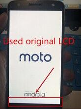 استبدال كامل شاشة LCD محول الأرقام الجمعية لموتورولا موتو Z XT1650 03 01 05