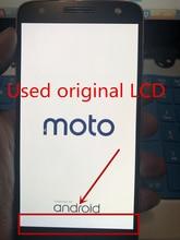 Yedek tam LCD ekran Digitizer meclisi Motorola Moto Z için XT1650 03 01 05