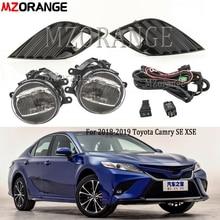LED DRL Nebel Lichter Für Toyota Camry 2018 2019 SE XSE Schalter Harness Lampe Abdeckung nebelscheinwerfer scheinwerfer tagfahrlicht