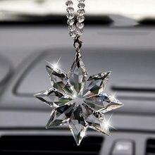 Автомобильный Ловец Солнца снежинка украшение рождественский