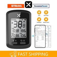 XOSS GPS vélo ordinateur G + sans fil vélo compteur de vitesse vélo de route vtt étanche Bluetooth ANT + Cadence vitesse vélo ordinateur