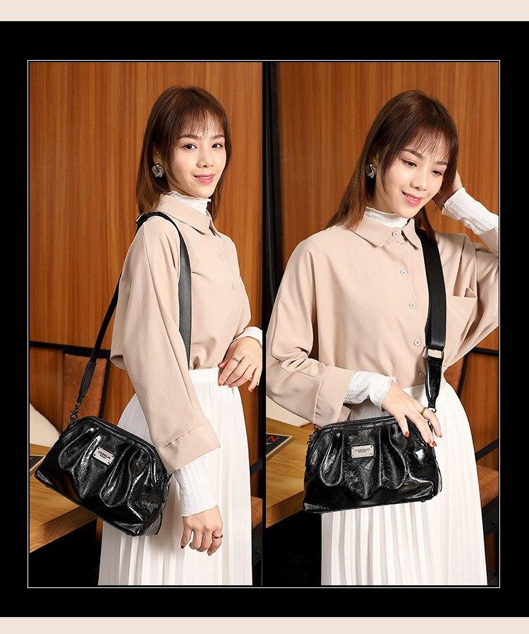um ombro oblíquo grande capacidade bolsa feminina sacos de ombro