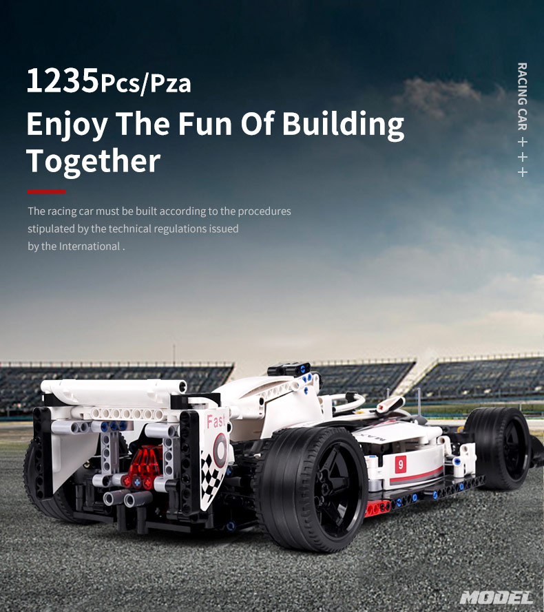 MOULD KING 13117 Technic Super Racing car Building Block 2