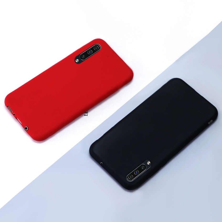 Cassa del telefono Per Samsung A30s Un 30s 2019 Caso Ultra sottile di Colore Della Caramella Della Copertura di TPU Per Samsung Galaxy A30s molle del Silicone di caso Della Copertura