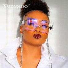 Unisex Fashion Ladies Square Sunglasses Women Goggle Shades Vintage Brand Design
